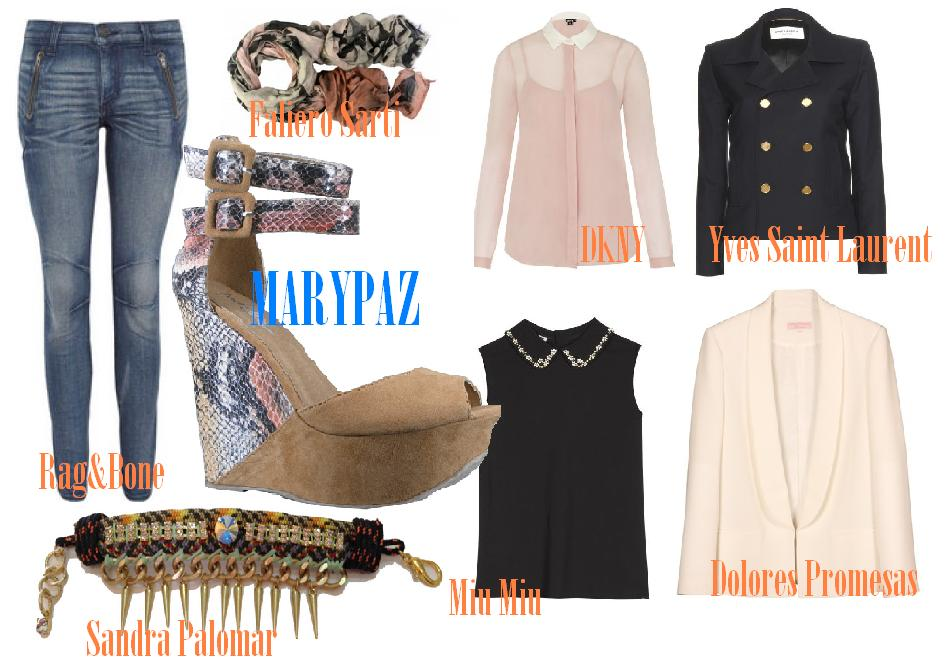 Look casual cuña Marypaz