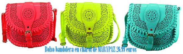 Bandolera charol MARYPAZ