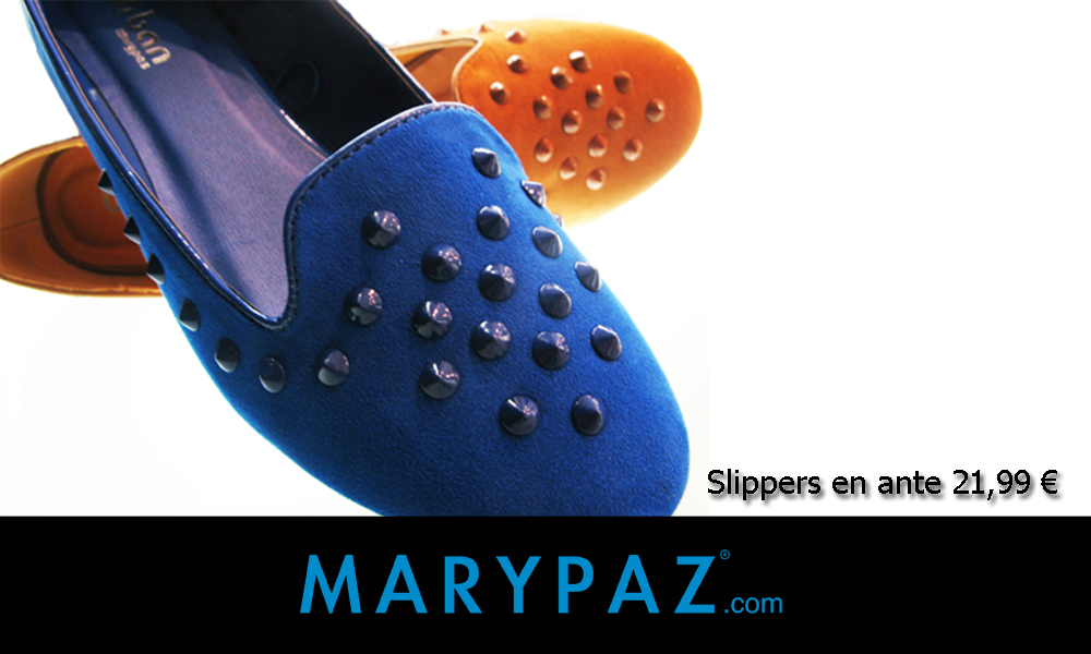 Detalles slippers MARYPAZ