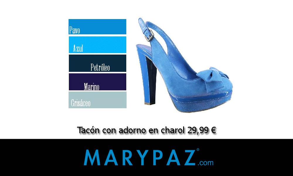 Tacon azul
