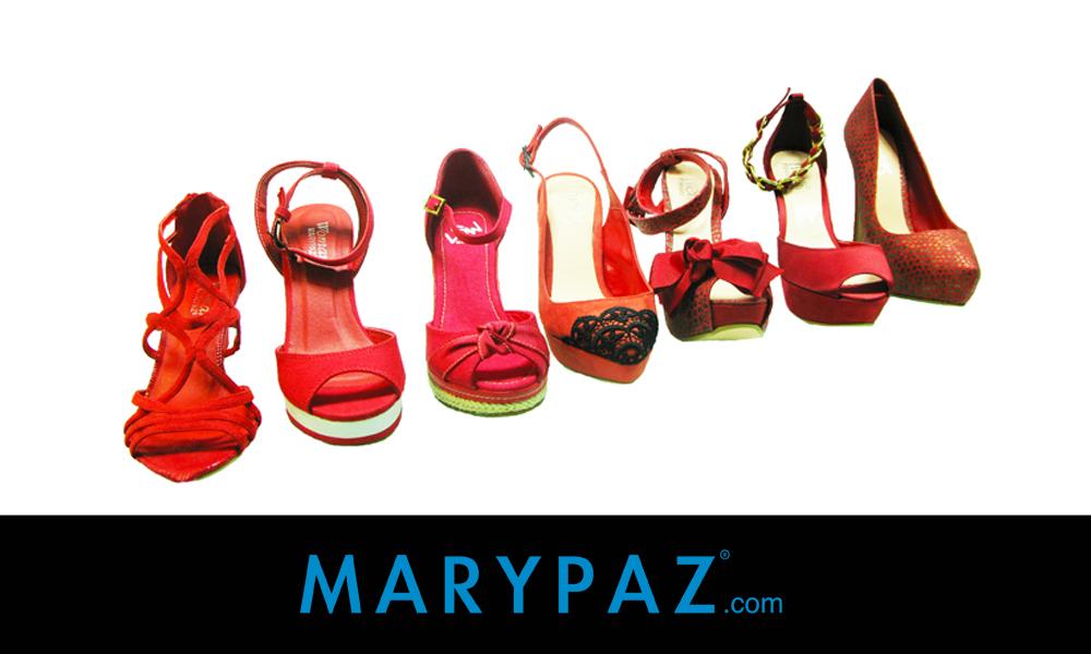 Zapatos rojos MARYPAZ