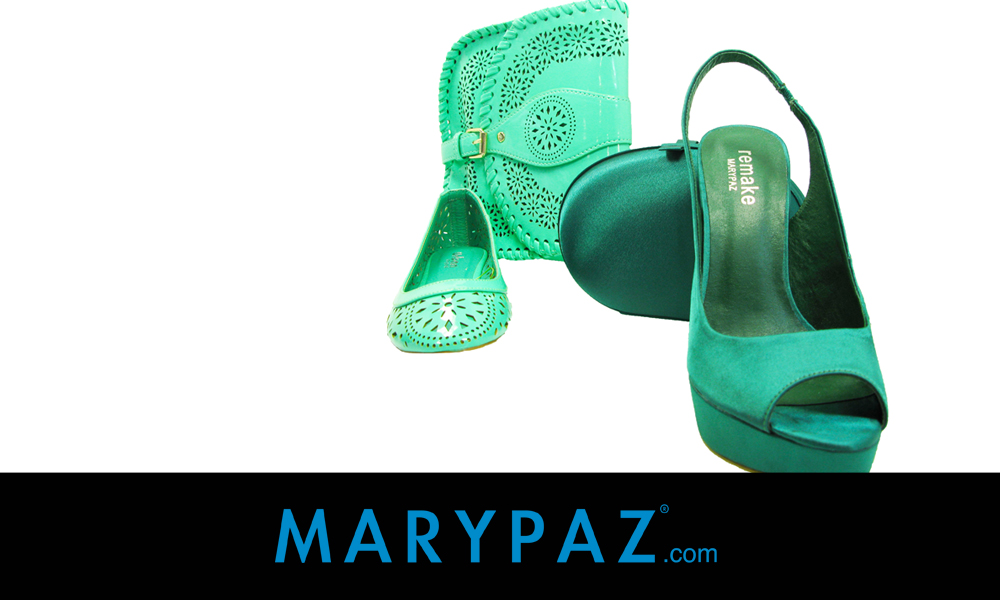 Zapatos verdes MARYPAZ