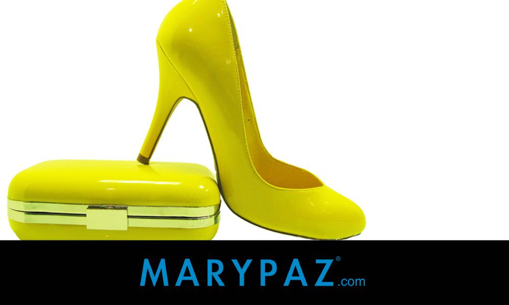 zapatos amrarillos MARYPAZ