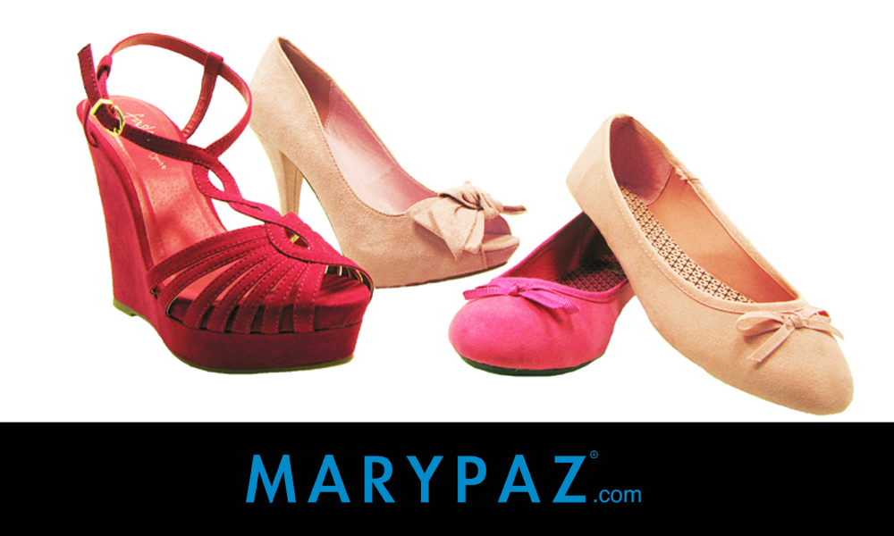 zapatos rosas MARYPAZ