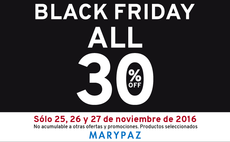 black friday MARYPAZ