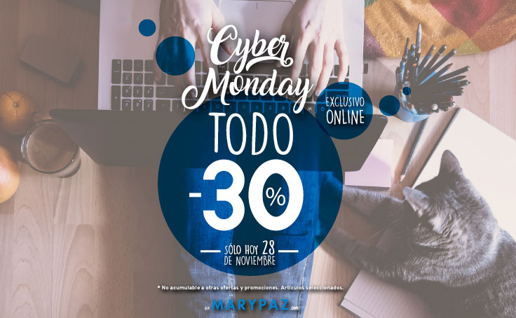 Cyber Monday MARYPAZ