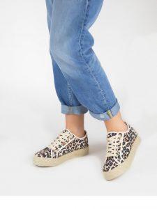 zapatos estampados deportiva
