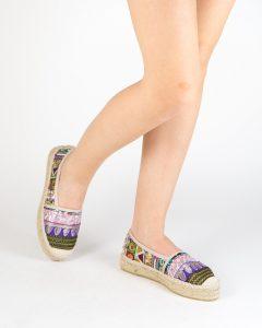 zapatos estampados alpargata etnica