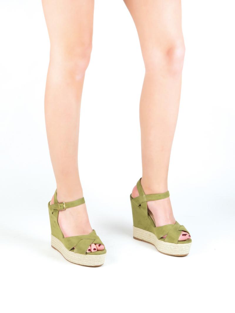 Sandalia de cuna yute